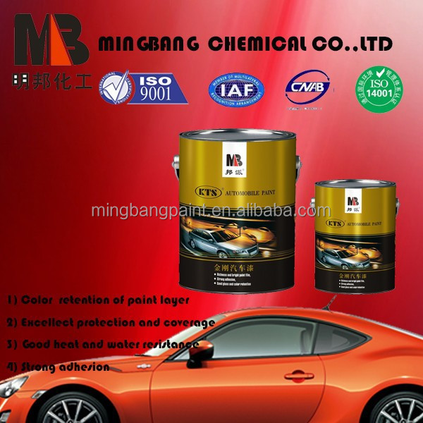 Acrylic Resin 1k Automotive Based Paint Supplies
