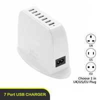 New Products 7 Ports Usb Wall