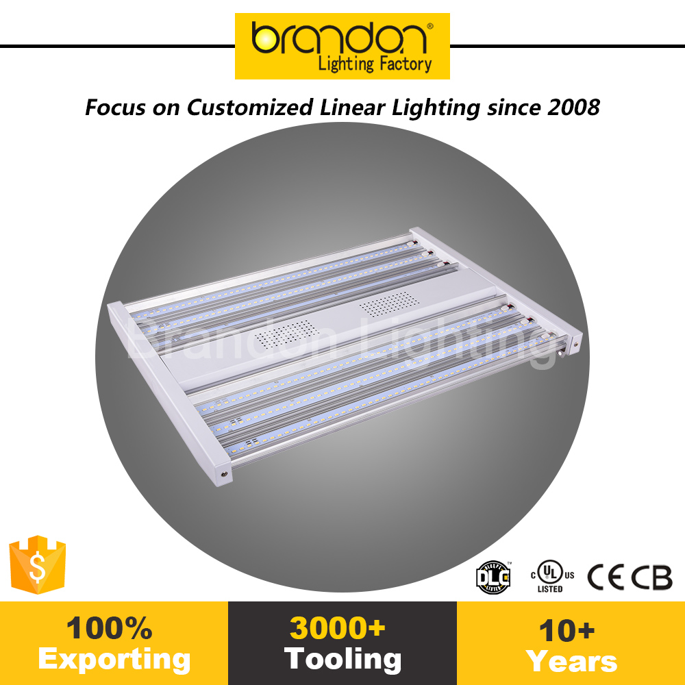 For Canada Market Linear Low Bay Fixtures Led Warehouse Low Bay Commercial Led High Bay Lighting