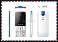 Low cost 1.77 inch super cheap dual sim Multi-lanuage mobile phone Q1 celluar