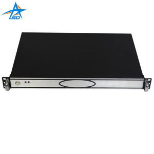 1u 19 inch industrial rackmount chassis with storage
