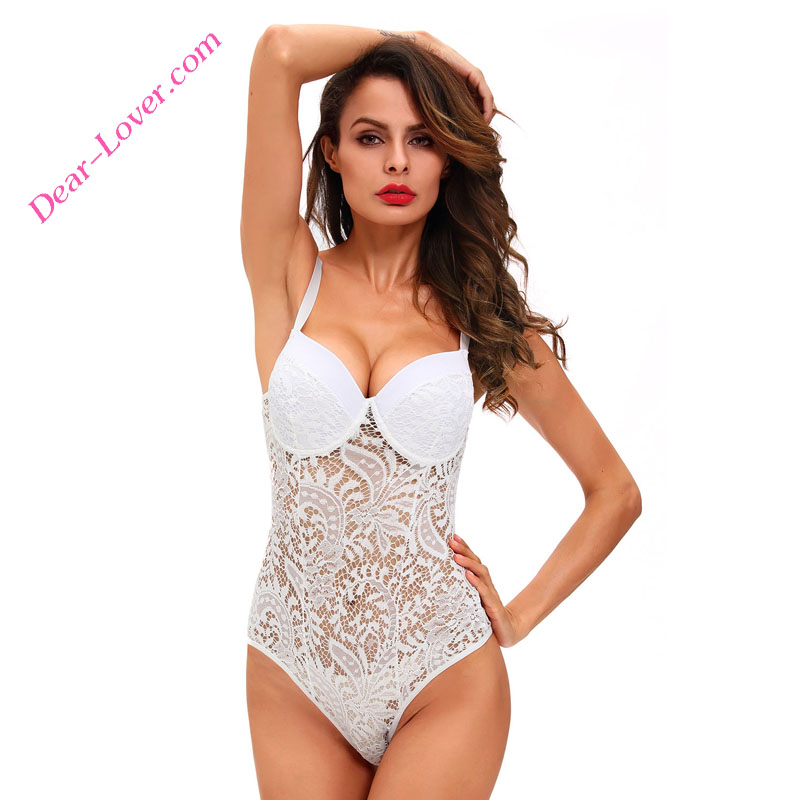 Sexy push up lace lingeries women underwear sexy teddy