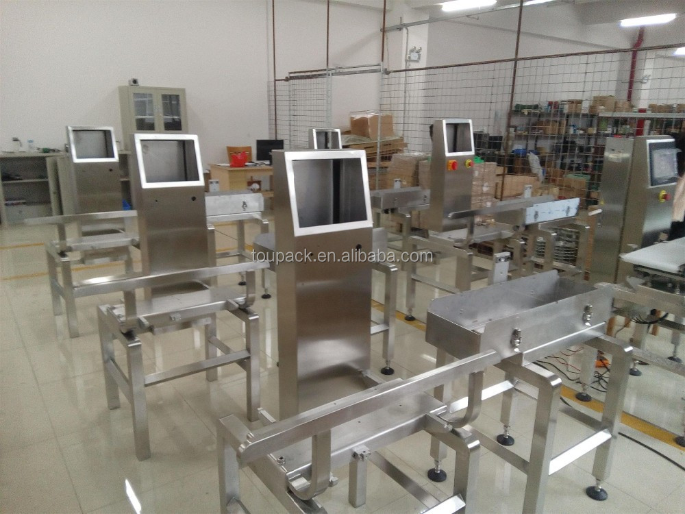 checkweigher/check weigher with pusher rejector