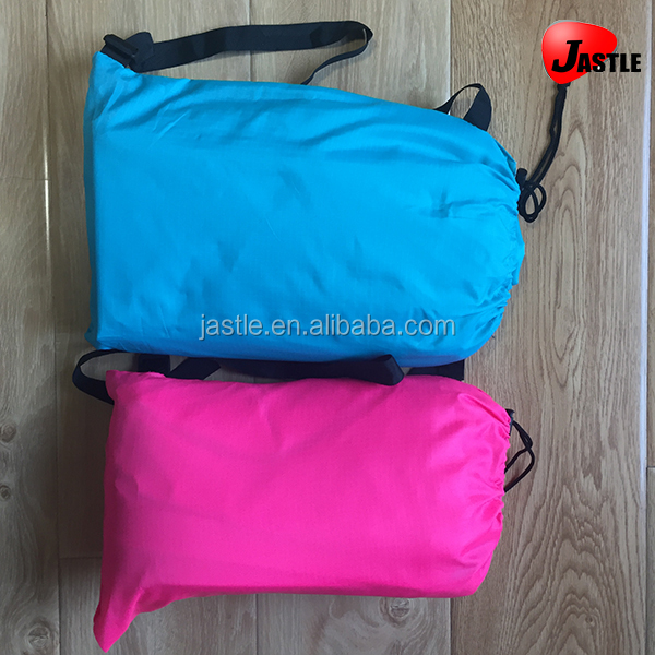 Newest Waterproof Convenient Air Fast Filled Lay Bag Beach Camping Lazy Sofa Bed