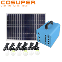 small type solar light portable solar power system home