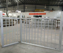Galvanized zinc plated iron fence/ cheap Specialty Ornamental High Security iron fence for USA CA AU NZ Market