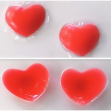 Red Heart Shape Sexy Woman Silicone nipple Covers Sexy Beauty Nipple Cover