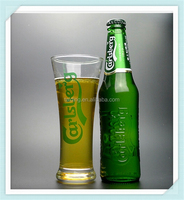 Famous brand Carlsberg beer glass cup hot sale glass beer cup for Carlsberg