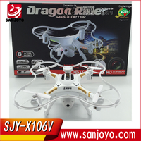 2015 New Version X106V vs Syma X5SC 2.4G 6 Axis GYRO RC Quadcopter RC Helicopter with 2.0MP Camera Syma X5C Upgraded SJY-X106V