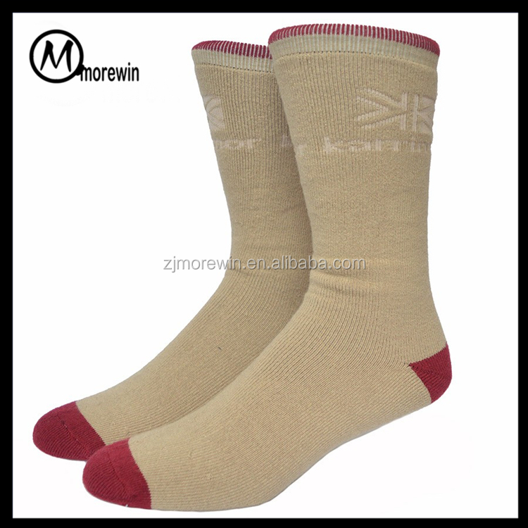 Morewin brand Merino Wool Skit Socks Thick Terry Winter Warm Sock Mens Colorful Sport Socks Wholesale