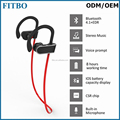 High Quality Bluetooth headset running music bluetooth headphone wireless mini earphone