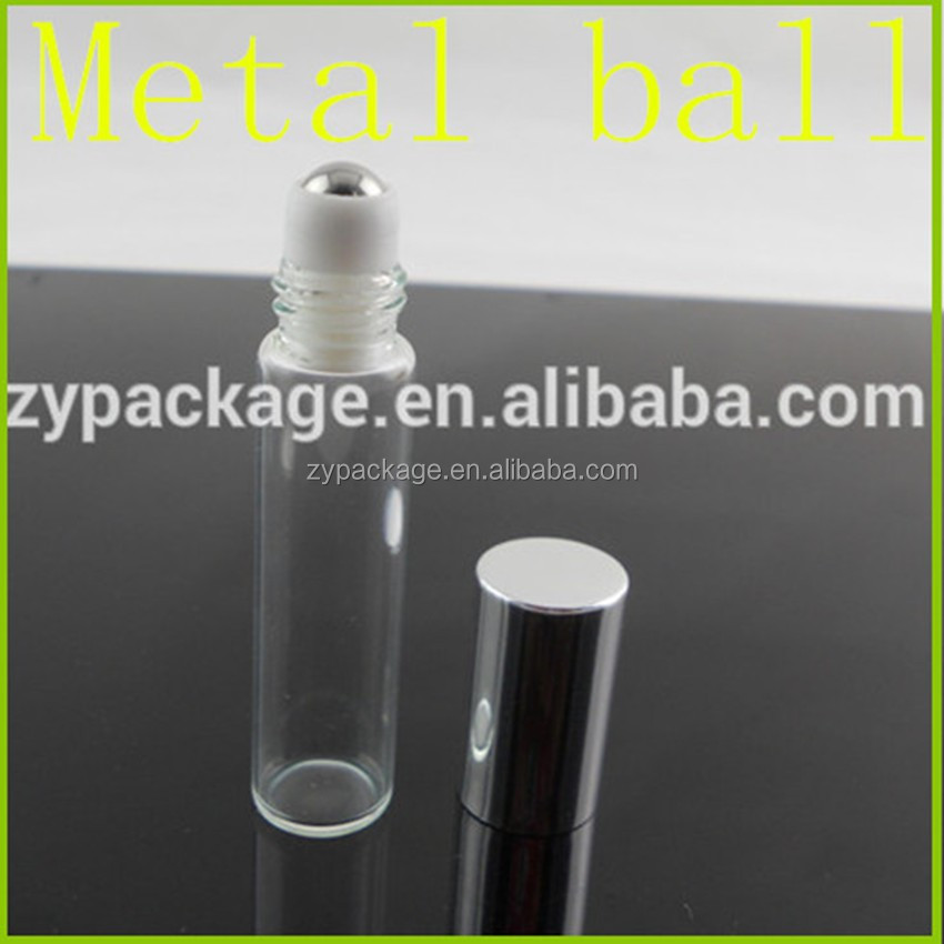Sell 10ml 15ml 20ml 30ml body oil glass bottle roll on with roller ball for body oil, perfume, etc