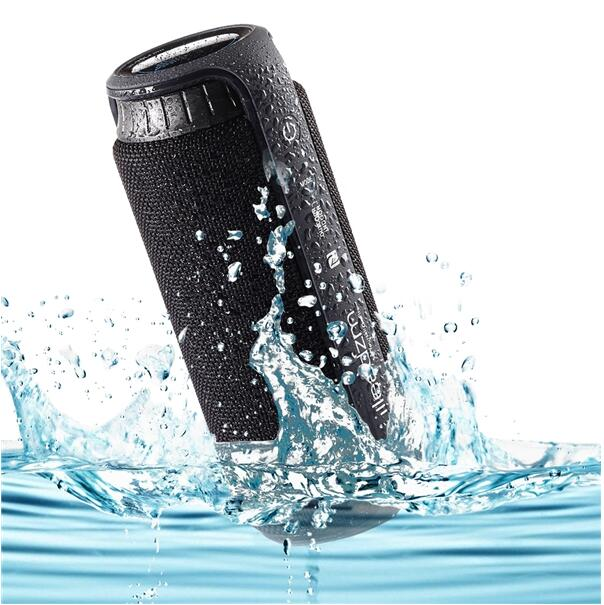 Free Sample Missile No.1 IPX4 Multimedia Portable Waterproof Wireless Bluetooth Speaker Black
