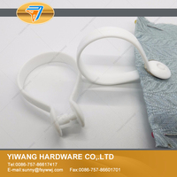10 years manufacturer high quality PP plastic curtain hanging hooks