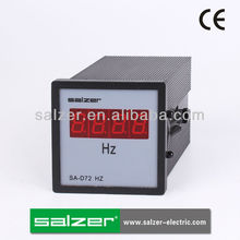 SALZER Brand SA-D72 HZ 72 Digital Frequency Meter