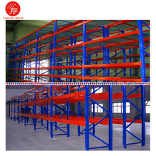 Double Deep Convenient Multi-level Store Heavy Duty Steel Plate Pallet Racking Rack for Factory Storage Solutions