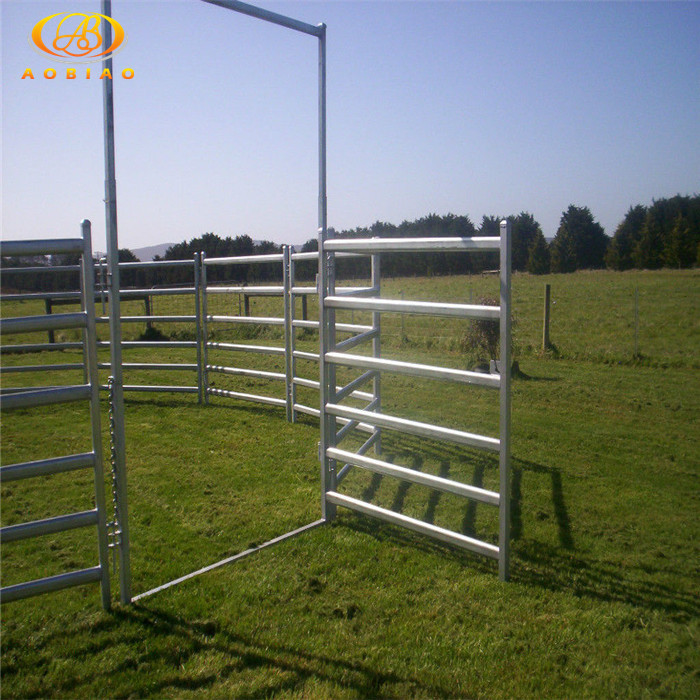 2017 latest fashion top design cattle panel 50 x 16'