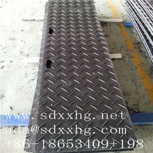 support trackway panel durable construction matte PE rig mats hdpe 500 sheet