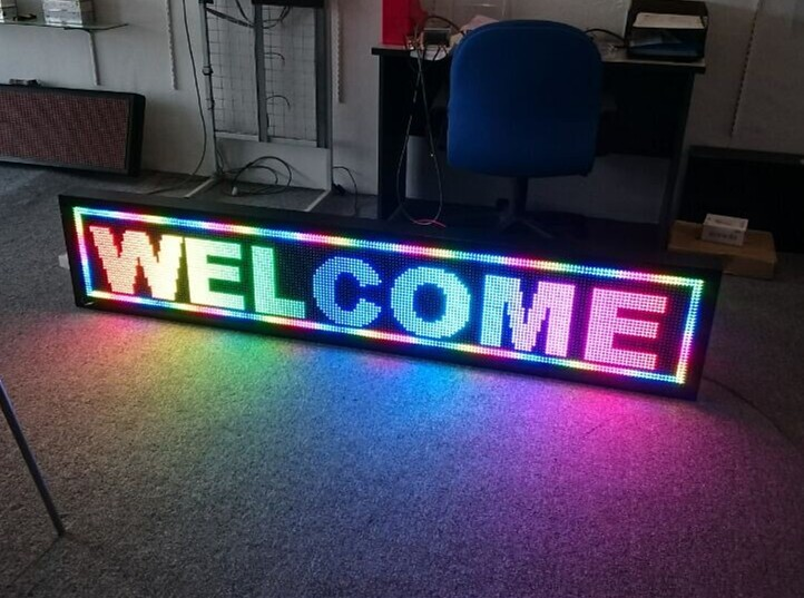 7 color/full color led display controller led screen control card
