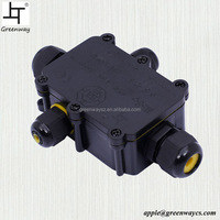 IP66 IP68 4 Way Europe Electrical Outdoor Enclosure Waterproof Junction Box