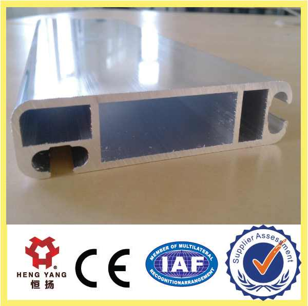 aluminum guide rail for shutter door