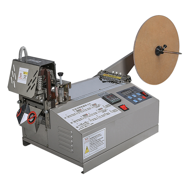 Computerized hot and cold elastic tape cutter machine <strong>102</strong>
