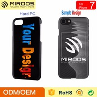 New rubber matt hard back phone case cover custom design for iphone 6 7 case OEM by Miroos