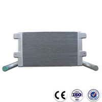 High performance plate fin aluminum radiator cooler core