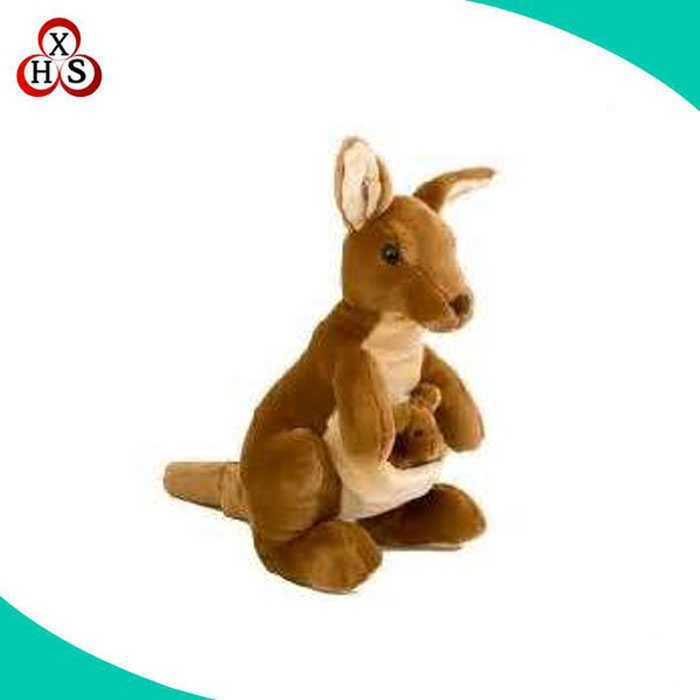 2015 New Baby Kangaroo Plush Toy For Holiday Gift