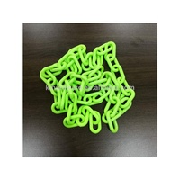 Warning Plastic Fluorescent Chain 6mm and 8mm Plastic Traffic Safety Chain