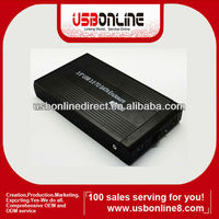 "High quality 5GMbps 3.5"" inch HDD Aluminum Enclosure case USB 3.0 to SATA Hard Disk Drive case"