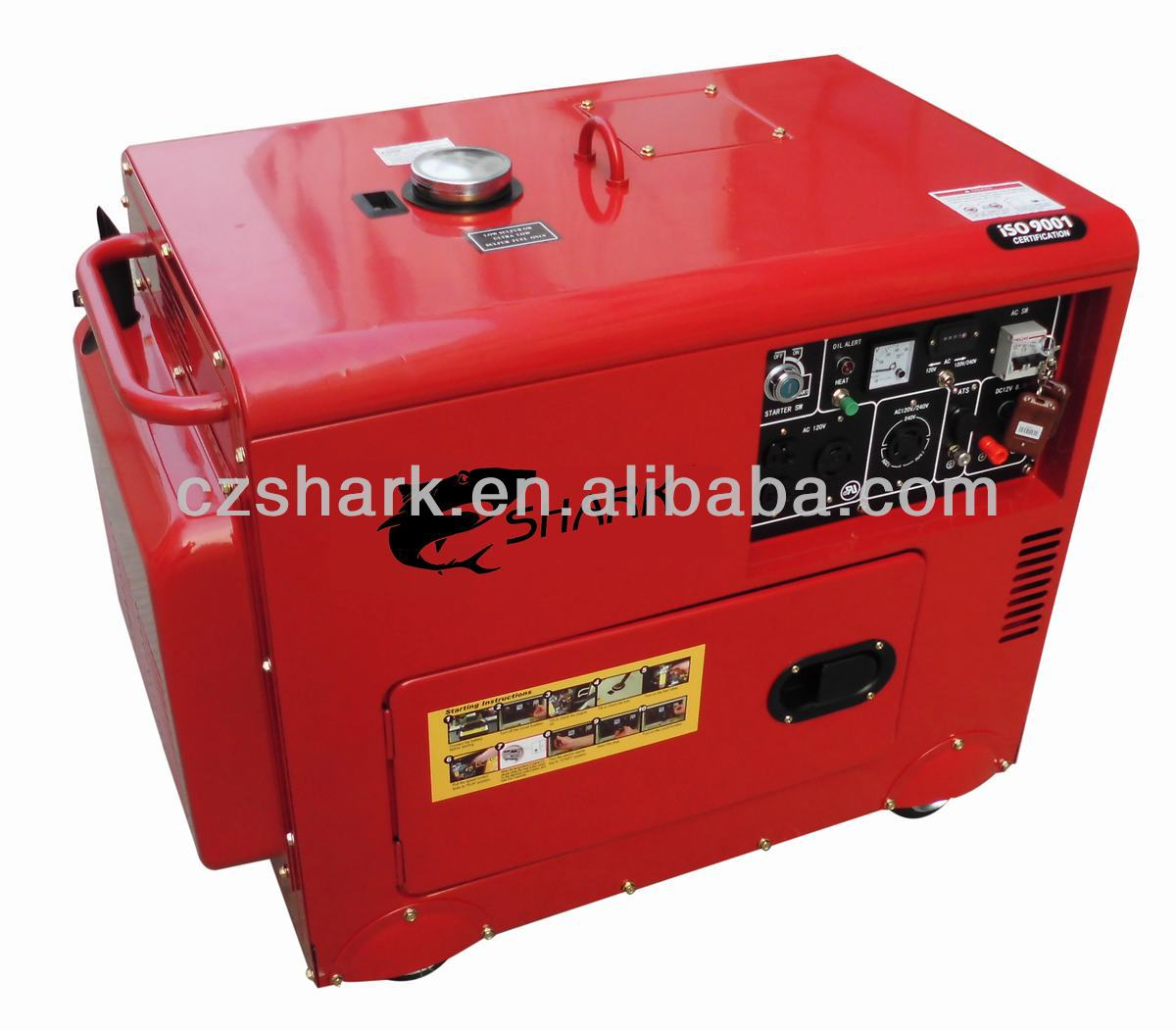 5KVA Silent Diesel Generator for home use