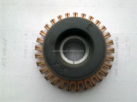 motor part commutation commutator for power tool motor armature used on hammer drill
