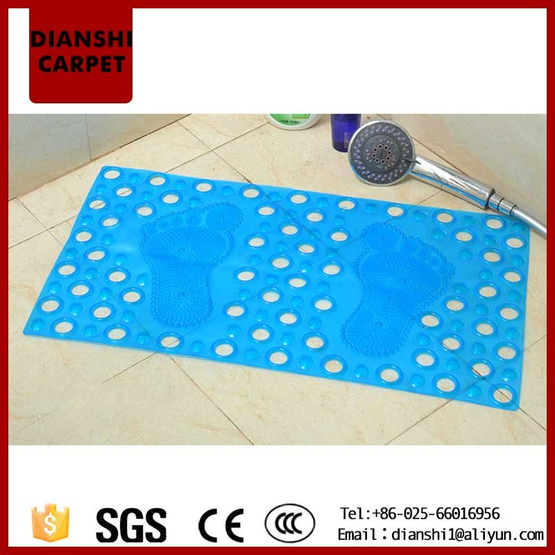 Charming Custom Absorbent Bath Rug Without Rubber Backing For Sale