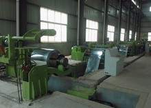 cut to length line with uncoiler straightener cutter stacker