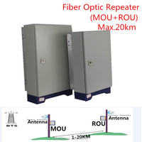 Long distance coverage mobile signal Repeater Amplifier 4g lte 1800mhz fiber optical booster