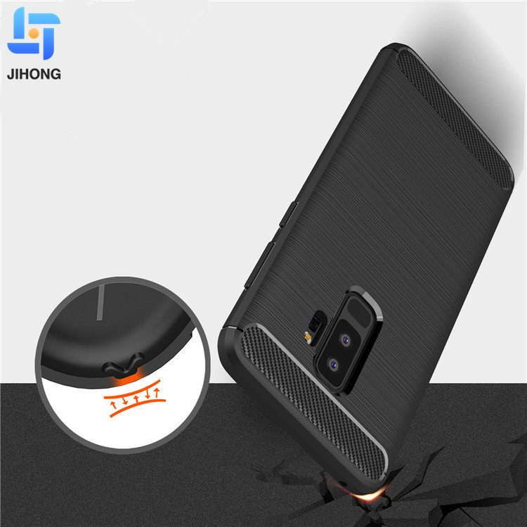 For samsung s9plus case drop resistance tpu flexible mobile phone back cover case for samsung galaxy s9 plus
