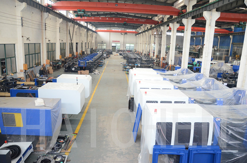 Ningbo CE automatic hydraulic famous pet preform injection moulding machine