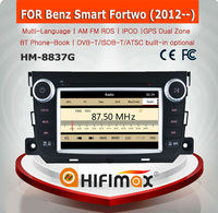 HIFIMAX WIN CE 6.0 Car DVD Player For Mercedes Benz Smart Fortwo 2012 onward Car Dvd GPS Navigation System