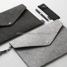 Multi functional A4 size polyester felt document bag felt file folder