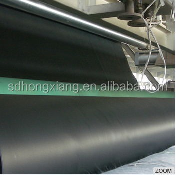 1.5mm HDPE geomembrane sheet used in dam seepage