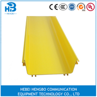 PVC/ABS Plastic Cable Tray/Fiber Channel