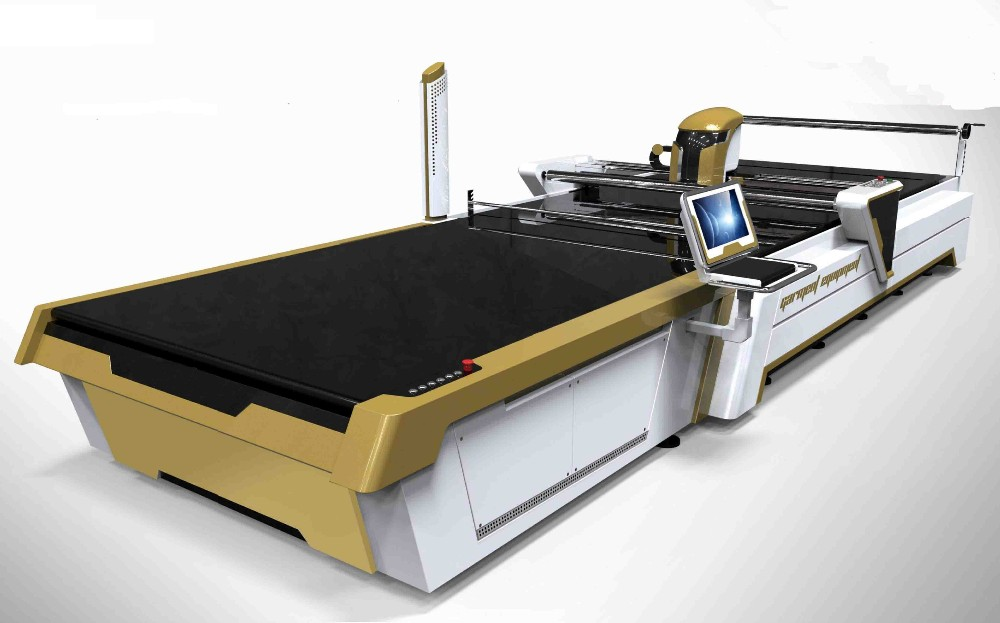Electirc Fabric Cutter Manual CNC Garment Cutting Machine
