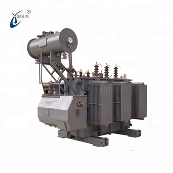 Chinese supplier 7500kva 66kv nltc oilimmersed power transformer