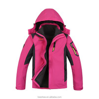 Womens Outdoor Clothes for Hiking and Camping Wholesale 2015 Warm Fleece Jacket For Women 88012