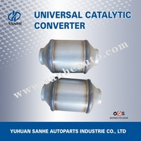 Exhaust Pipe Type Exhaust System Universal Catalytic Converter