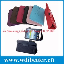Genuine leather case cover for Samsung galaxy Note 8.0 tablet N5100 N5110