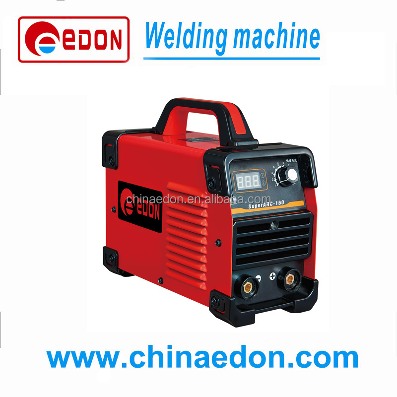 IGBT inverter single phase portable arc welding machine with VRD, ANTI-STICK and ARC FUNCTION