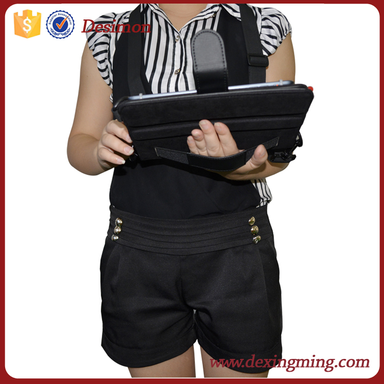 stand smart cover for ipad mini 2 3 4 leather case for ipad mini DIY design
