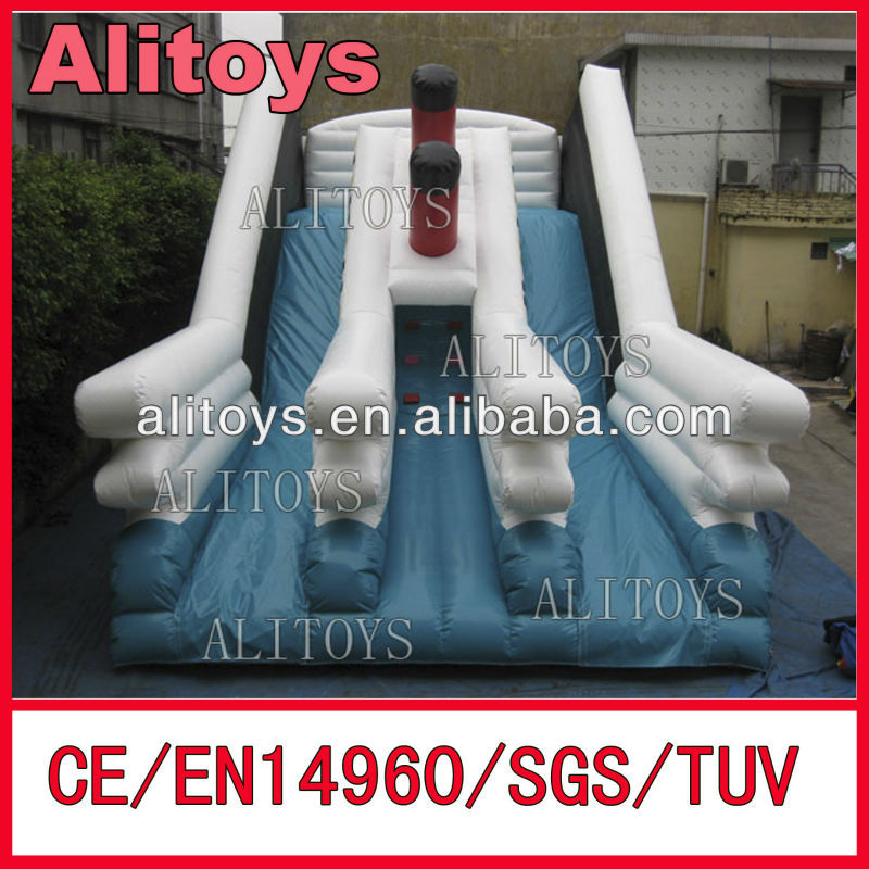 Durable&tough inflatable slide,inflatable bouncing slide